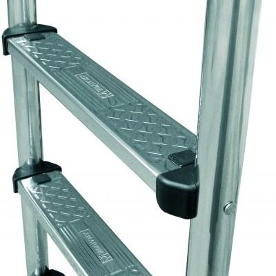 Escada mod. standard 5 degraus AISI- 304