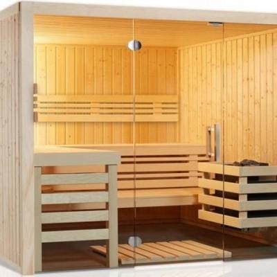 Sauna Panorama M - 2,14 x1,64 x 2,01 m