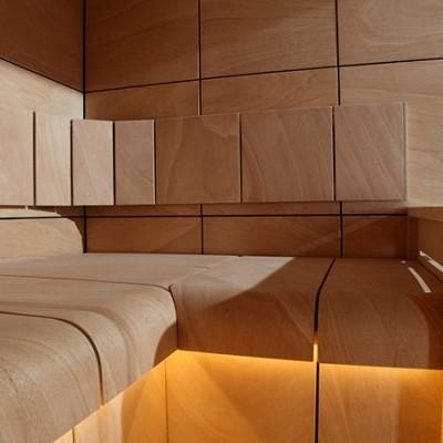 Sauna Claro - 2,06 x 1,59 x 2,07 m