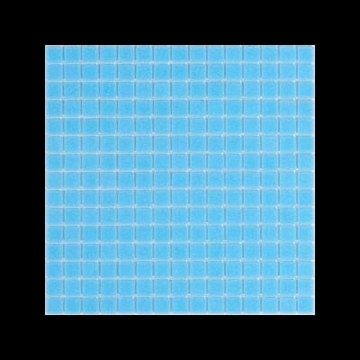 Pastilha vitrificada, azul turquesa claro A12