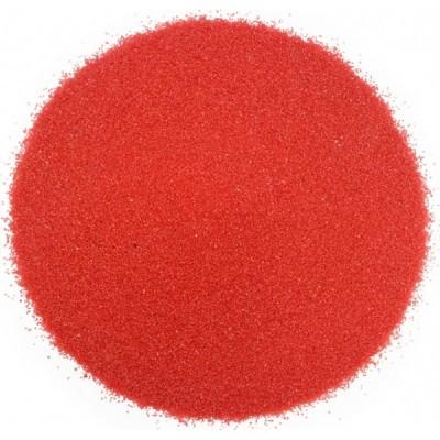 Areia colorida vermelha