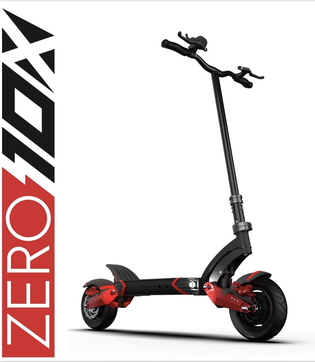 ZERO Trotinete Elétrica 10X (3 versões: 52V 18Ah / 52V 23Ah / 60V 21Ah)