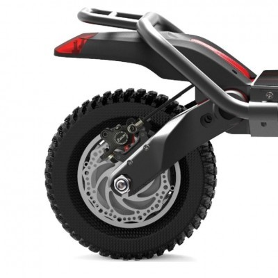 KAABO Trotinete Elétrica Wolf Warrior (2 versões: 60V 25Ah ou 60V 35Ah | Velocidade máxima: 80 km/h | Autonomia: 130-150 km)