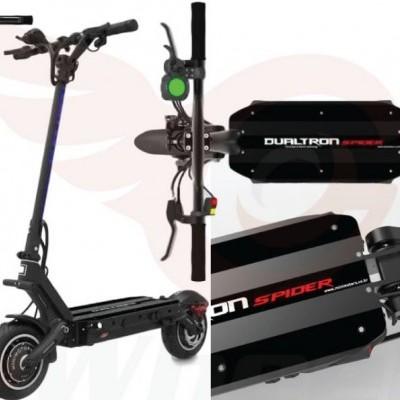 DUALTRON Trotinete Elétrica Spider Limited v2 (Velocidade máxima: 60 km/h | Autonomia: 70 a 90 km)