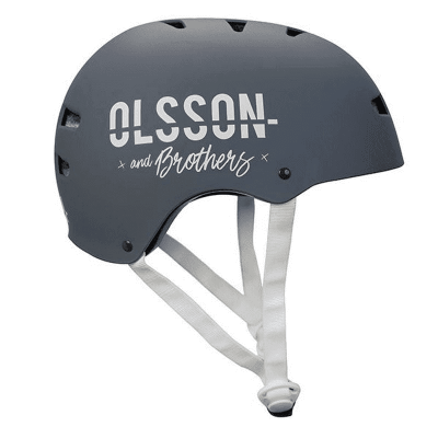 OLSSON AND BROTHERS Capacete S/M para adulto cor Antracite