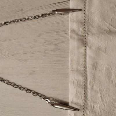 Salva gravatas | corrente para guardanapo  Ref  01