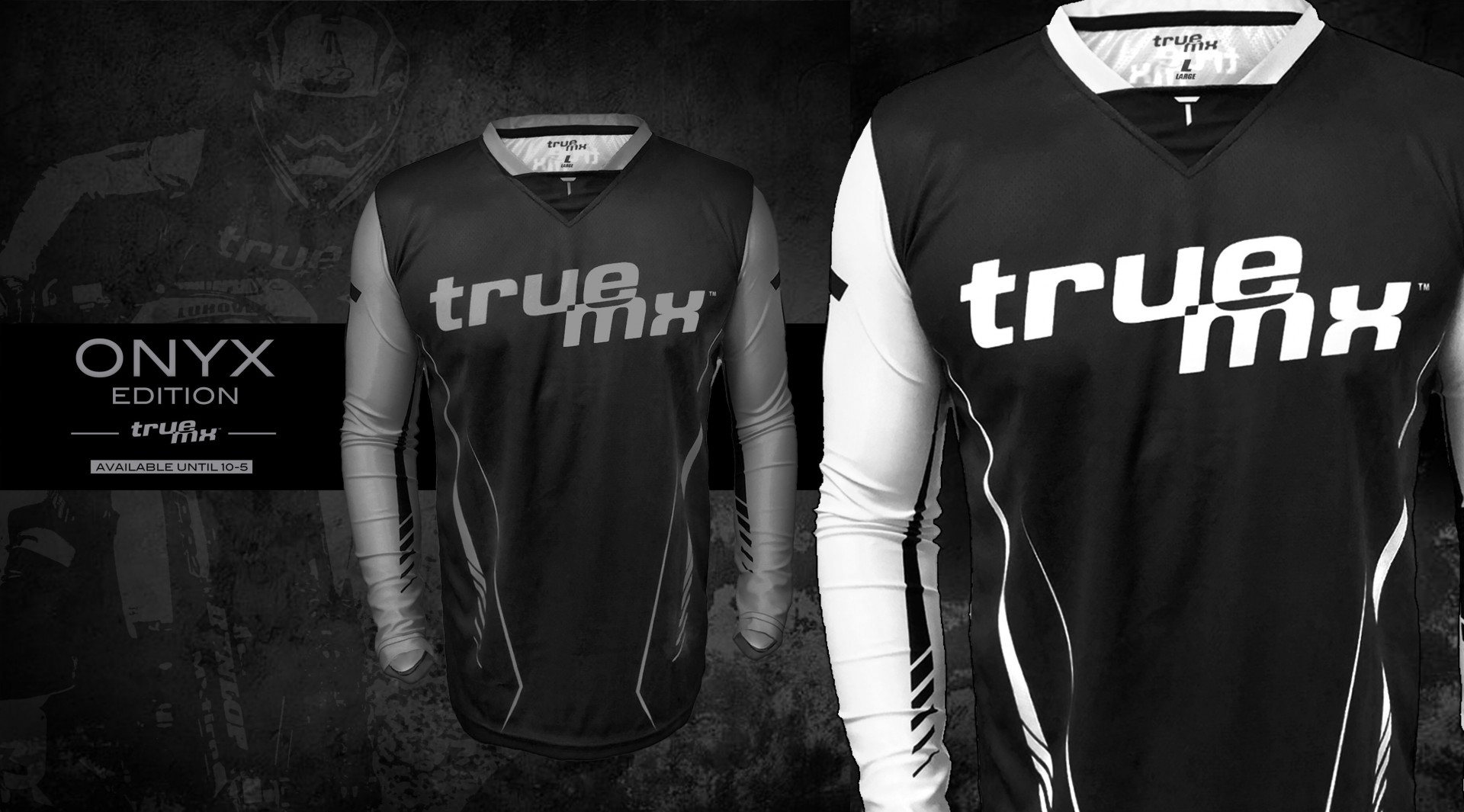Camisola TrueMX Transfer Onyx