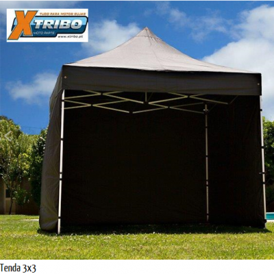 Tenda MultiPlay 3 x 3 com estrutura de 29mm