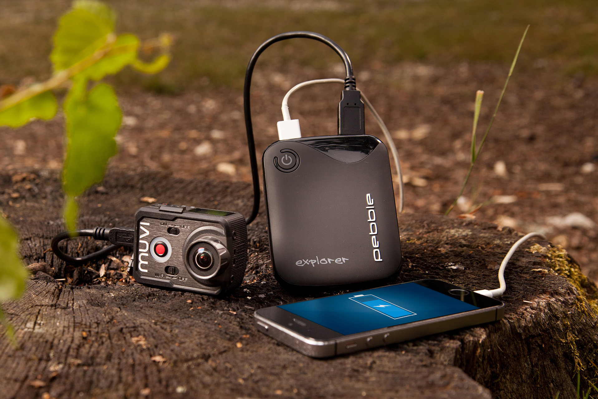 Veho | Powerbank Pebble Explorer 8400mAh