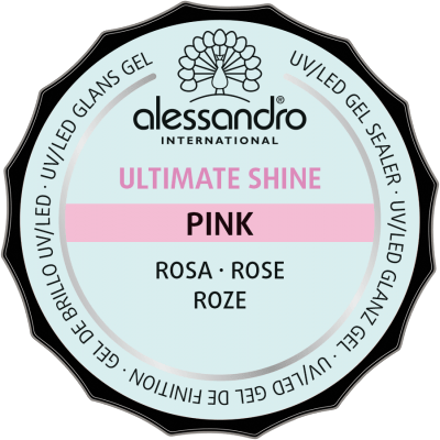 Gel Ultimate Shine Rose 15g